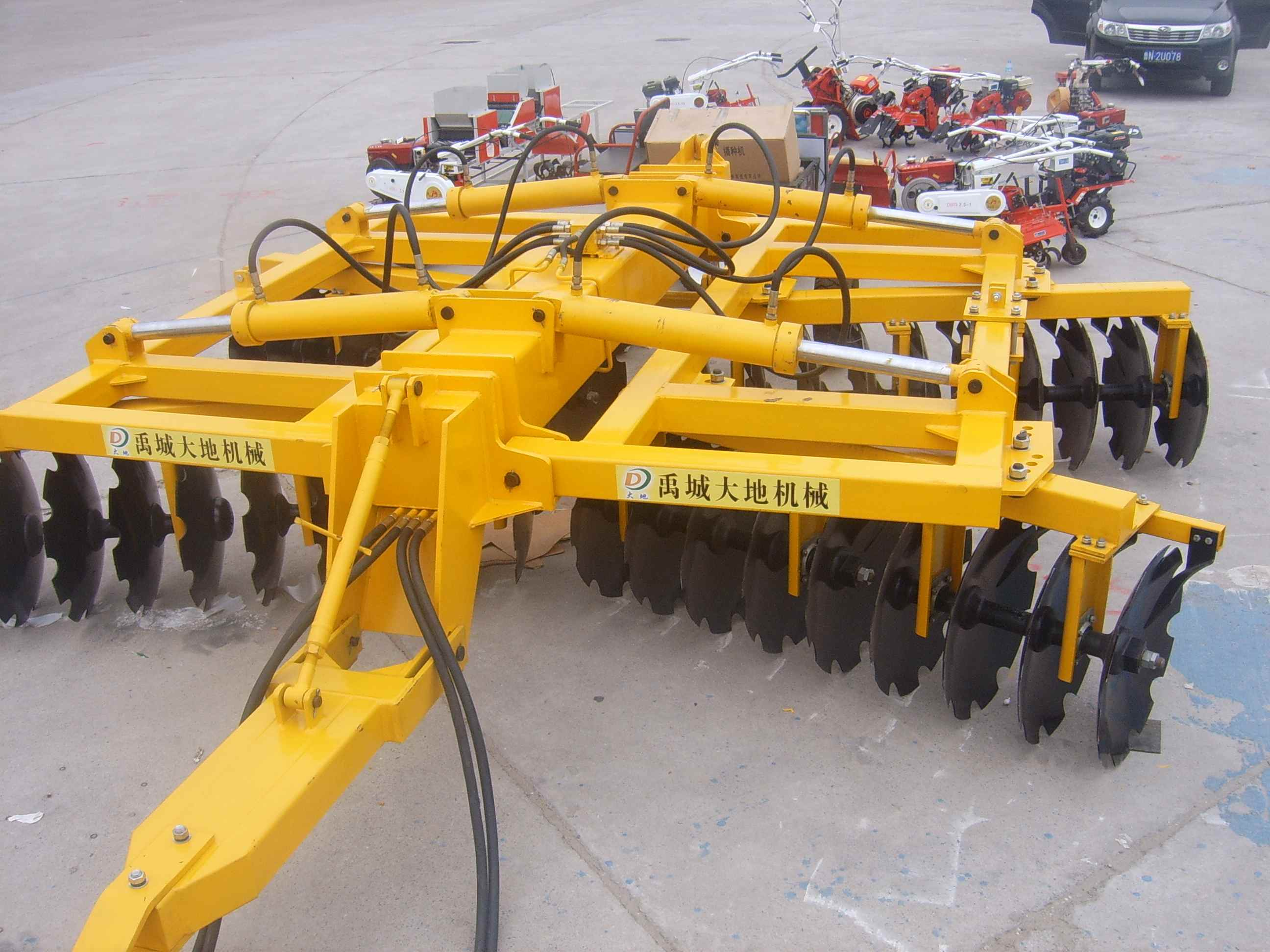 disc harrow machines