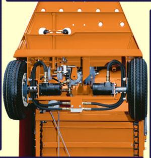 Motorizes feed carts